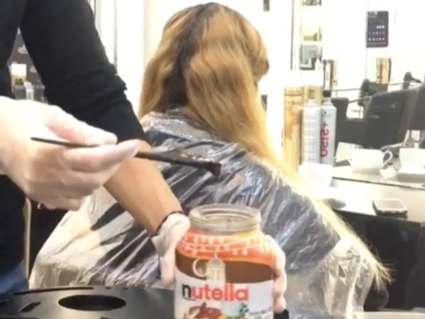 My Dream Extension - Teinture au Nutella à Dubaï